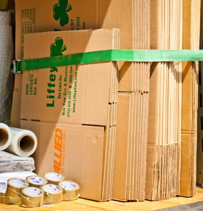 Moving Companies NYC - Packing Materials Moving Boxes