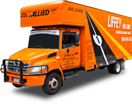 NYC Moving Company - Liffey Moving Truck